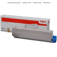 Original Oki Toner schwarz 44844508