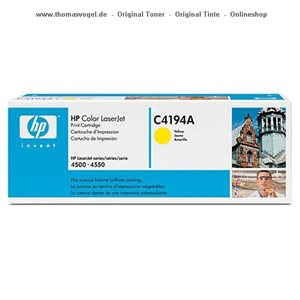 HP Toner yellow C4194A