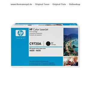 HP Toner schwarz C9720A