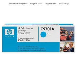 HP Toner cyan C9701A
