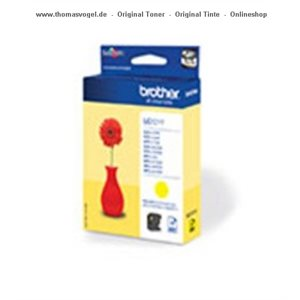 Brother Tinte yellow LC-121Y
