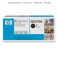 HP Toner schwarz Q2670A