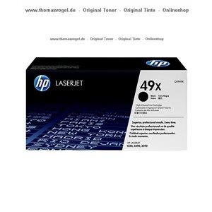 HP Toner Q5949X - XL für 6.000 Seiten