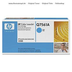 HP Toner cyan Q7561A