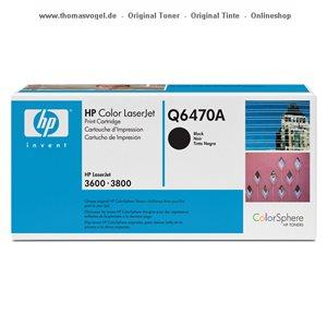 HP Toner schwarz Q6470A