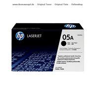 HP Toner CE505A