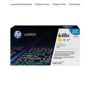 HP Toner gelb CE262A